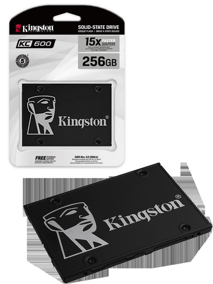 Unidad de estado solido Kingston KC600 256GB